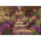Puzzle - Monet - Weg in Monets Garten (1000)