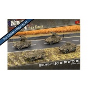 World War III Team Yankee - BRDM-2 Recon Platoon (x4 Plastic)