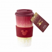 Funko Home & Gift Mickey Berry - Plastic Lidded Mug: Berry Glitter