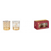 Funko Home & Gift Mickey Berry - Glass Set: Gold Mickey