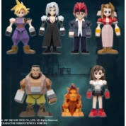FINAL FANTASY VII POLYGON FIGURE - SET OF 8 BOX VERSION
