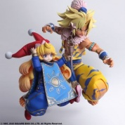 TRIALS OF MANA BRING ARTS ACTION FIGURE - KEVIN & CHARLOTTE