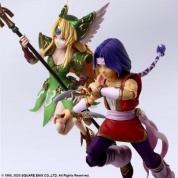 TRIALS OF MANA BRING ARTS ACTION FIGURE - HAWKEYE & RIESZ
