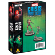 Marvel Crisis Protocol: Sin & Viper Character Pack - EN