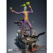 Silver Fox Collectibles - Joker Arkham Asylum 1:8 Scale Statue