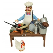 Muppets Swedish Chef DLX Figure Set