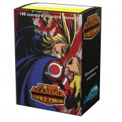 Dragon Shield Matte Art Sleeves - My Hero Academia - All Might Flex (100 Sleeves)