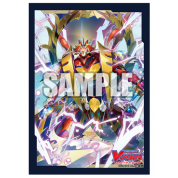"Bushiroad Sleeve Collection Mini Vol.499 Cardfight!! Vanguard's Dragonic Kaiser Vermillion ""The Blood"" Display (12 Packs)"
