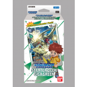 Digimon Card Game - Starter Deck Display Giga Green ST-4 (6 Decks) - EN