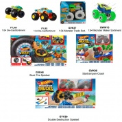 MATTEL Hot Wheels Monster Truck Display