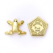 Harry Potter - Chocolate Frog & Box gold plated stud