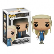 Funko POP! Game Of Thrones - Daenerys Targaryen In Blue Dress Figure 4-inch