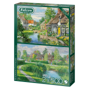 Riverside Cottages - 2x 500 Teile