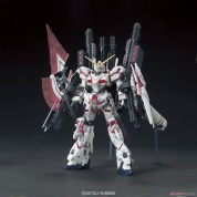 GUNDAM - HGUC 1/144 FULL ARMOR UNICORN GUNDAM (DESTROY MODE/RED COLOR Ver.)