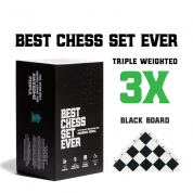 Best Chess Set Ever (Black Board) - EN