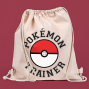 Drawstring Eco Bag - Pokemon Trainer