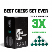 Best Chess Set Ever (Green Board) - EN