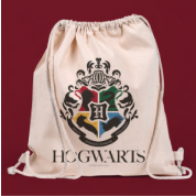 Drawstring Eco Bag - Harry Potter Hogwarts
