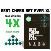 Best Chess Set Ever XL (Green Board) - EN