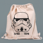 Drawstring Eco Bag - Original Storm Trooper Helmet