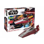 Star Wars - Resistance A-wing Fighter, red (1:44) - EN/DE/FR/NL/ES/IT