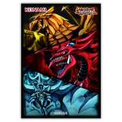 YGO - Slifer, Obelisk, & Ra Card Sleeves (50 Sleeves)