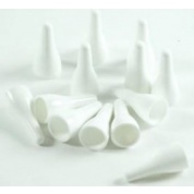 e-Raptor quality plastic pawns - white