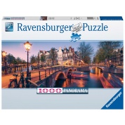 Ravensburger Puzzle - Abend in Amsterdam 1000pc