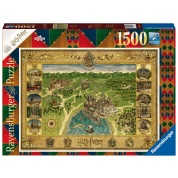 Ravensburger Puzzle - AT: Hogwarts Karte 1500pc