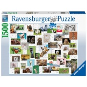 Ravensburger Puzzle - Funny Animals Collage 1500pc