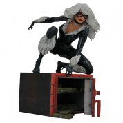 Marvel Gallery Black Cat Comic PVC Figure