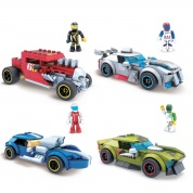 Mattel Mega Construx Hot Wheels Rockin Racers Assortment (4)