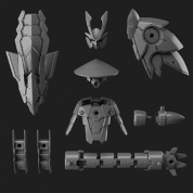 GUNDAM - 30MM 1/144 OPTION PARTS SET 4 (SENGOKU ARMOR)