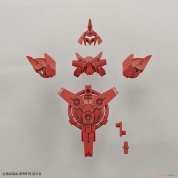 30 Minutes Missions - 30MM 1/144 OPTION ARMOR FOR COMMANDER TYPE [PORTANOVA EXCLUSIVE/ RED]