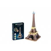 Eiffel Tower - LED Edition 3D Puzzle - 84pc