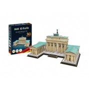 Brandenburger Tor-30th Anniversary German Reunion 3D Puzzle - 150pc