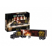 QUEEN Tour Truck - 50th Anniversary 3D Puzzle - 128pc
