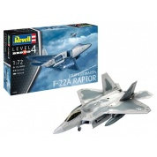 Lockheed Martin F-22A Raptor (1:72) - EN/DE/FR/NL/ES/IT