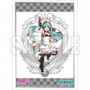 Bushiroad Sleeve Collection Extra Vol.348 [Racing Miku 2020 Ver.] Key Visual & Emblem (60 Sleeves)