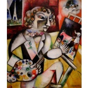 Puzzle - Marc Chagall with 7 fingers (1000)