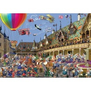 Puzzle - Weinauktion in Beaune (1000)