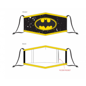 Warner - Batman Adjustable Shaped Face Mask (1 Pack)