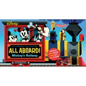 Disney All Aboard! Mickey's Railway (An Abrams Extend a Book) - EN