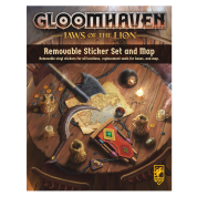 Gloomhaven: Jaws of the Lion Removable Sticker Set & Map - EN