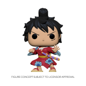 Funko POP! POP Animation One Piece - Luffy in Kimono Vinyl Figure 10cm