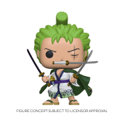Funko POP! POP Animation One Piece - Roronoa Zoro Vinyl Figure 10cm