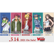 Cardfight!! Vanguard overDress - Starter Deck Display 5: Tomari Seto - Aurora Valkyrie (8 Decks) - EN