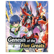 Cardfight!! Vanguard overDress - Booster Display: Genesis of the Five Greats (16 Packs) - EN