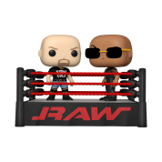 Funko POP! Moment WWE - The Rock vs Stone Cold in Wrestling Ring Vinyl Figures