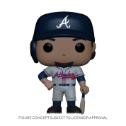 Funko POP! MLB: Braves- Ozzie Albies (Road Uniform) Vinyl Figure 10cm